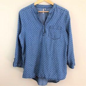 Gand & Greene Chambray Patterned Shirt